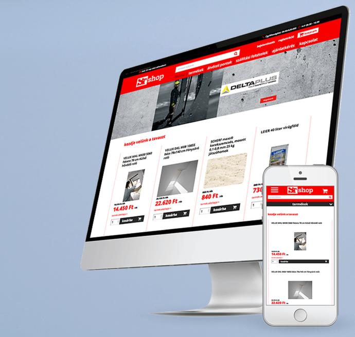 STShop weboldal